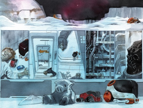 From Descender #14 by Dustin Ngy