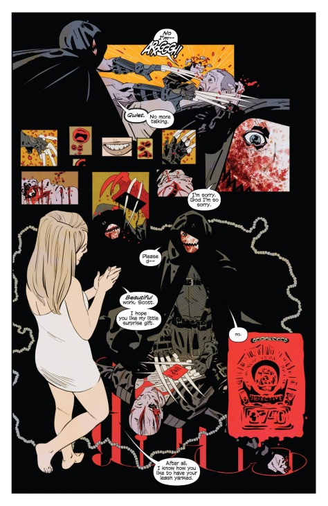 From Demonic #1 by Niko Walter & Dan Brown