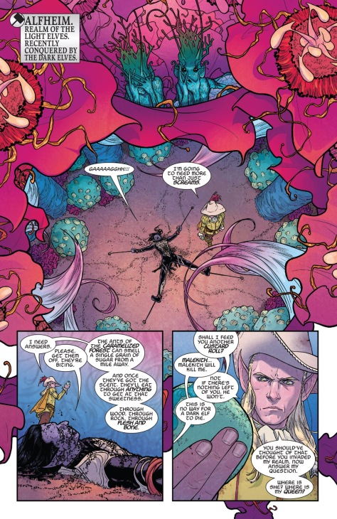 From The Might Thor #10 by Russell Dauterman & Matt Wilson