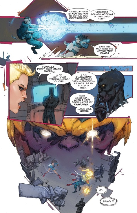 From The Ultimates #10 by Kenneth Rocafort & Dan Brown