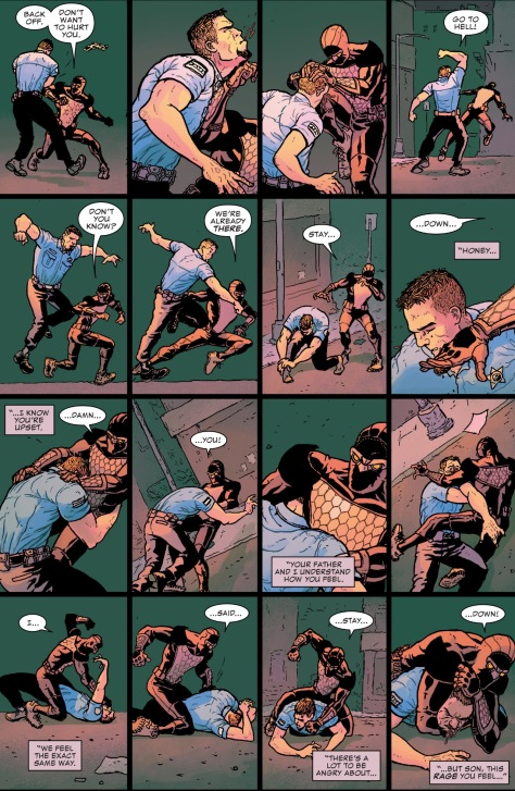 From Nighthawk #4 by Ramon Villalobos & Tamra Bonvillain