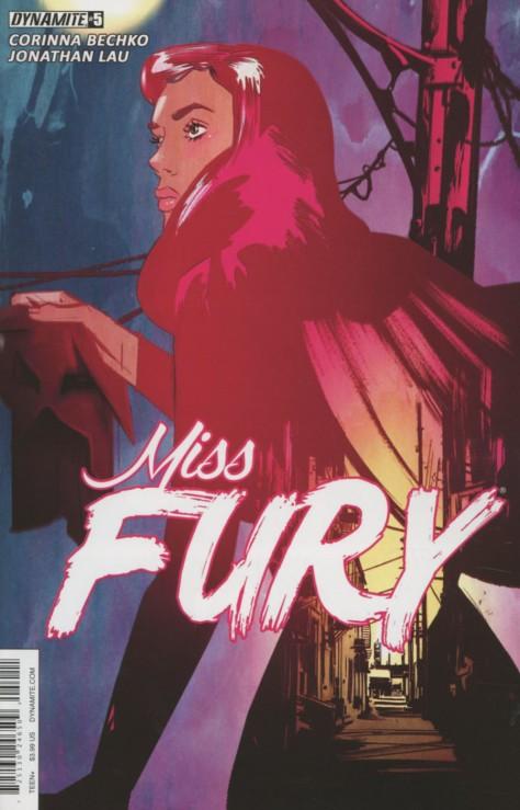 Miss Fury 5 Tula Lotay