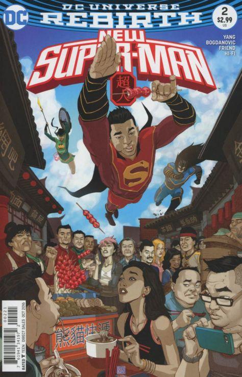 New Superman 2 Bernard Chang