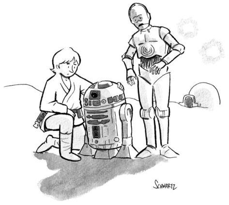New Yorker cartoon RIP Kenny Baker