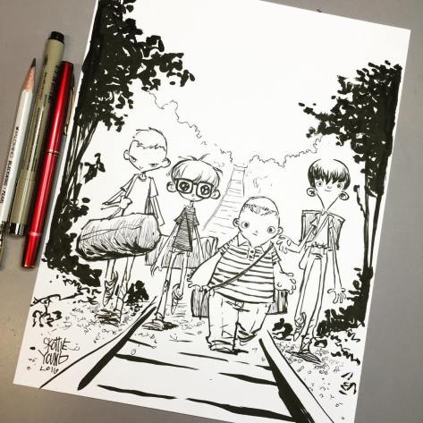 Stand by Me Skottie Young