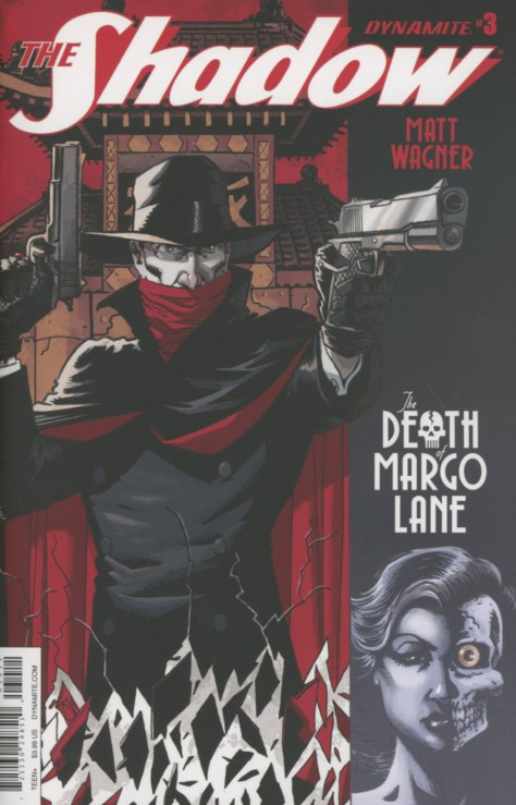 The Shadow The Death of Margo Lane 3 Matt Wagner