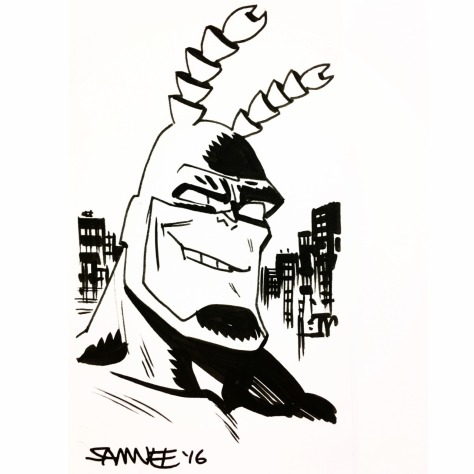 The Tick Chris Samnee