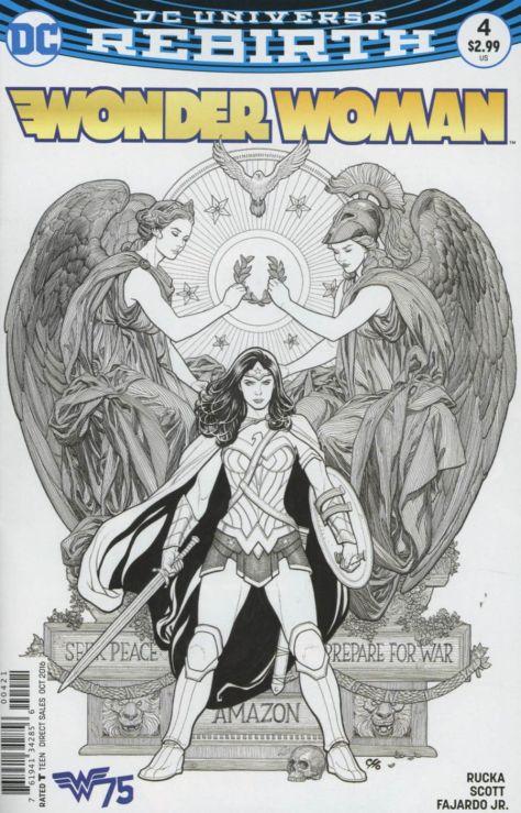 Wonder Woman 4 Frank Cho