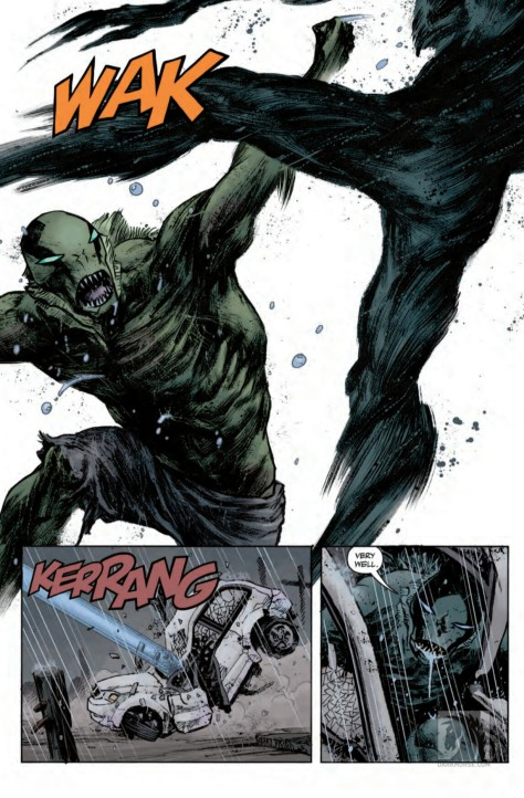 From Abe Sapien #36 by Sebastain Fiumara & Dave Stewart