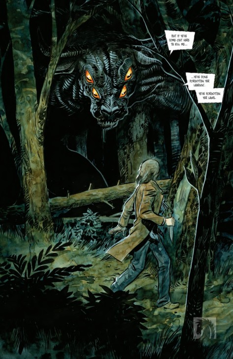 From Harrow County #16 by Tyler Crook