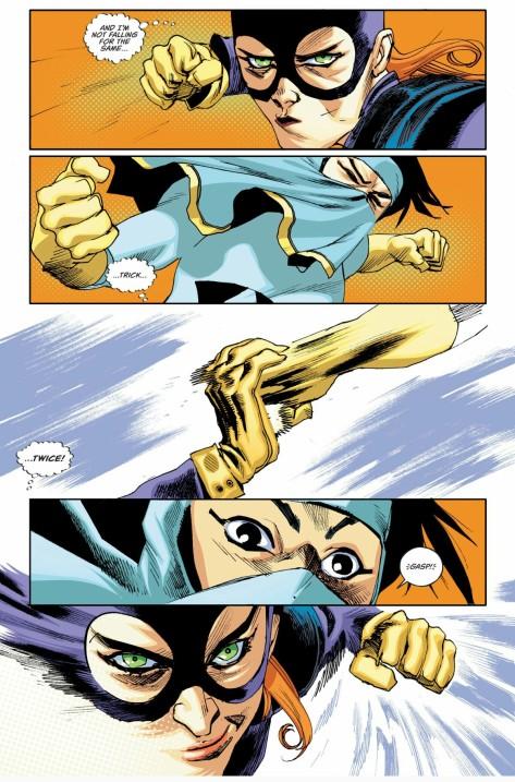 From Batgirl #3 by Rafeal Albuquerque & Dav McCraig