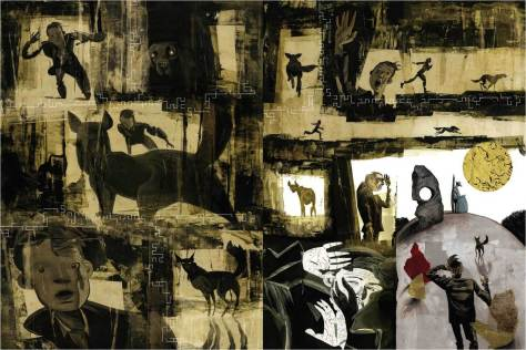From Black Dog: The Dream of Paul Nash by Dave McKean