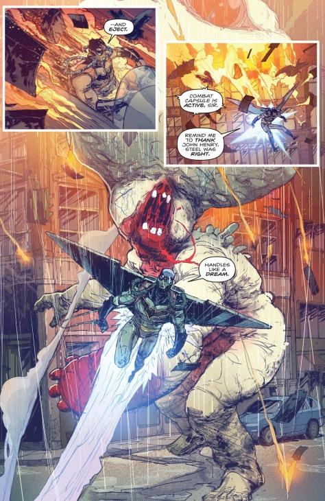 From Batman #7 by Riley Rossmo & Iavan Plascencia
