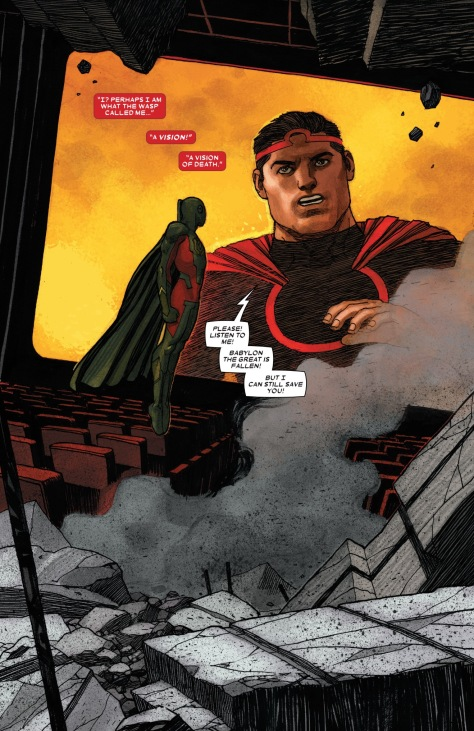 From The Vision #11 by Garbriel Hernandez Walta & Jordie Bellaire