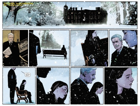 From International Iron Man #7 by ALex Maleev & Paul Mounts