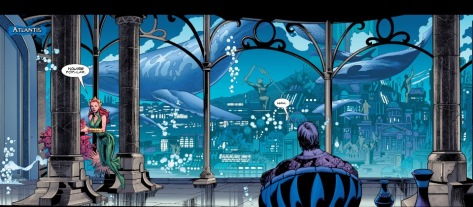From Aquaman #1 by Scott Eaton, Wayne Faucher & Gale Eltaeb