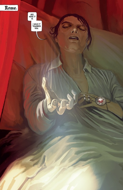 From The Wicked + The Divine 1831 AD #1 by Stephanie Hans