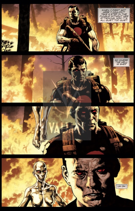 From Bloodshot Reborn #17 by Mico Suayan & David Baron