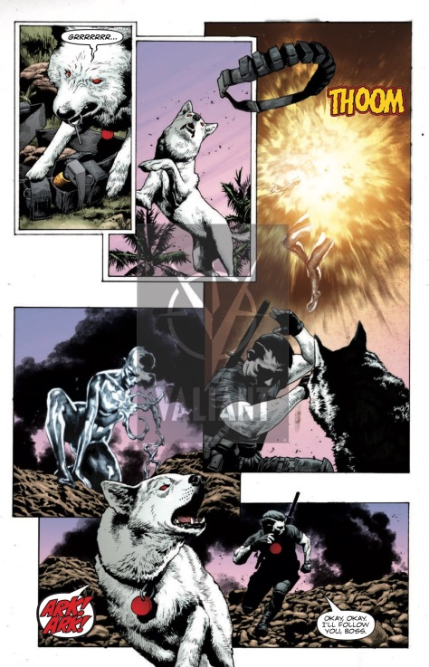 From Bloodshot Reborn #16 by Mico Suayan & David Baron