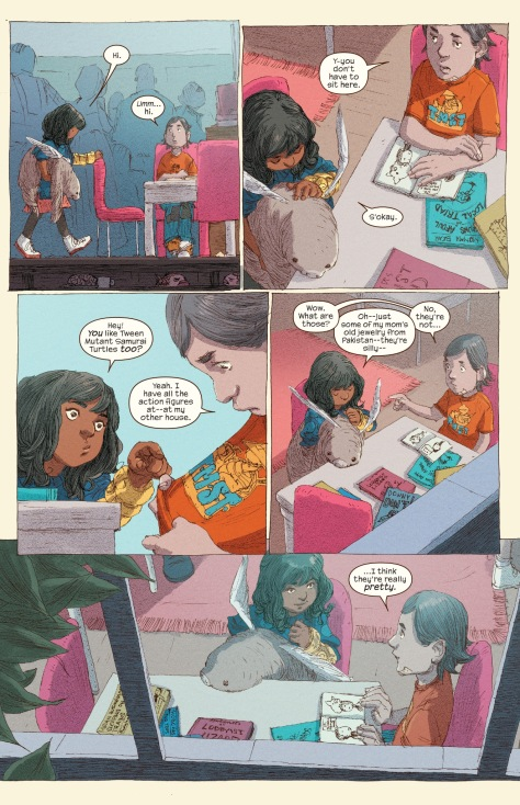 From Ms Marvel #10 by Adrian Alphona & Ian Herring