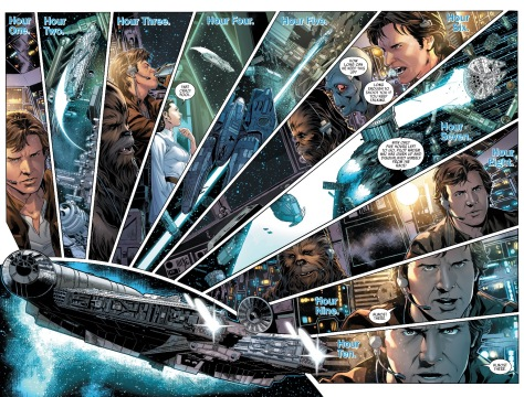 From Han Solo #3 by Mark Brooks, Dexter Vines & Sonia Oback