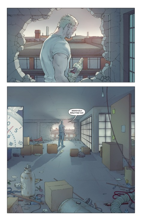 From Jupiters Legacy 2 #2 by Frank Quitely, Peter Doherty & Sunny Gho