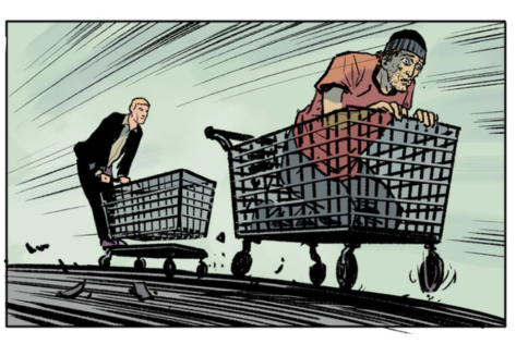 From The Fix #5 by Steve Lieber & Ryan Hill