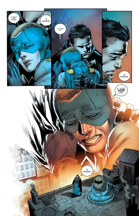 From Batman #6 by Ivan Reis, Joe Prado, Oclair Albert, Scott Hanna & Marcelo Maiolo