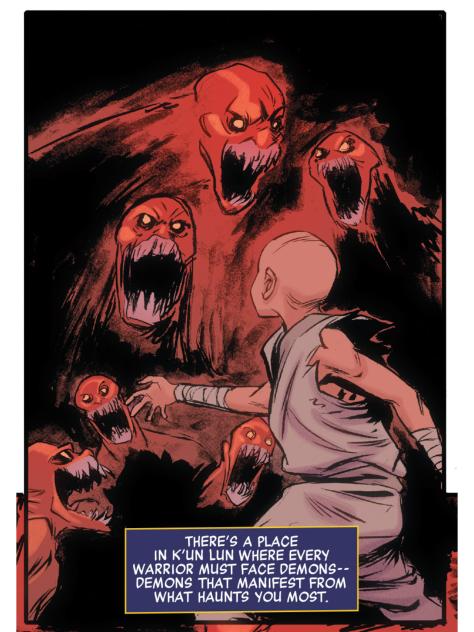 From Powerman & Iron Fist #8 by Sanford Greene, Flaviano & John Rauch