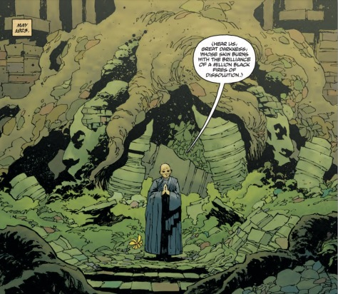 From Rise of The Black Flame #1 by Christopher MItten & Dave Stewart