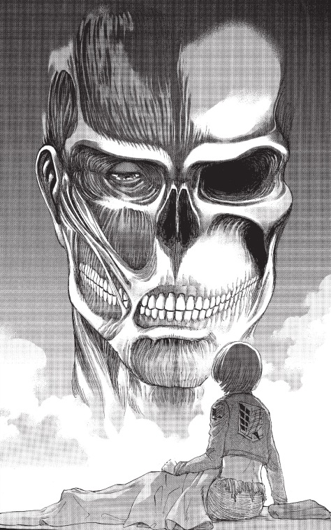 From Attack On Titan #85 by Hajime Isayama