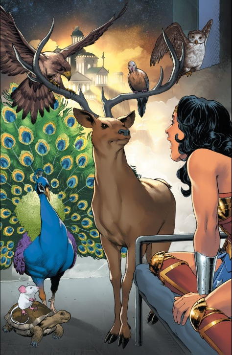 From Wonder Woman #6 by Nicola Scott & Ramulo Farjado Jr