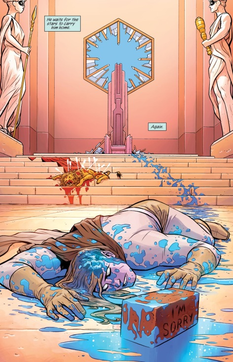 From Doom Patrol #1 by Nick Derrington & Tamra Bonvillain