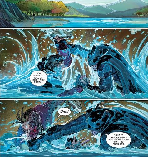 From All Star Batman #2 by John Romita Jr, Danny Miki & Dean Whie