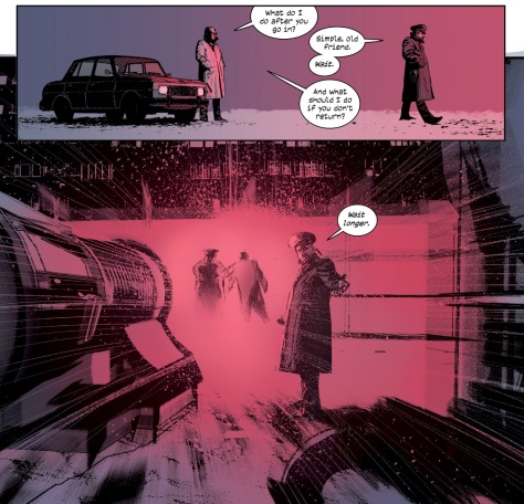 From The Black Monday Murders #2 by Tomm Coker & Michael Garland