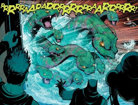 From New Superman #3 by Victor Bogdanovic, Richard Friend & Hi Fi