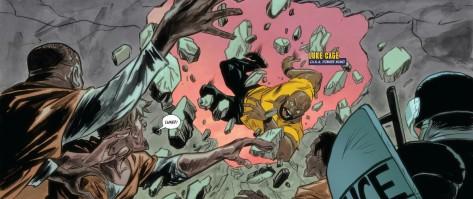 From Powerman & Iron Fist ##9 by Sanford Greene, Flaviano & John Rauch