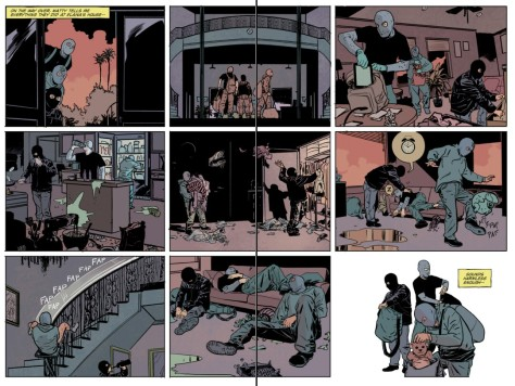 From The Fix #6 by Steve Leiber & Ryan Hill