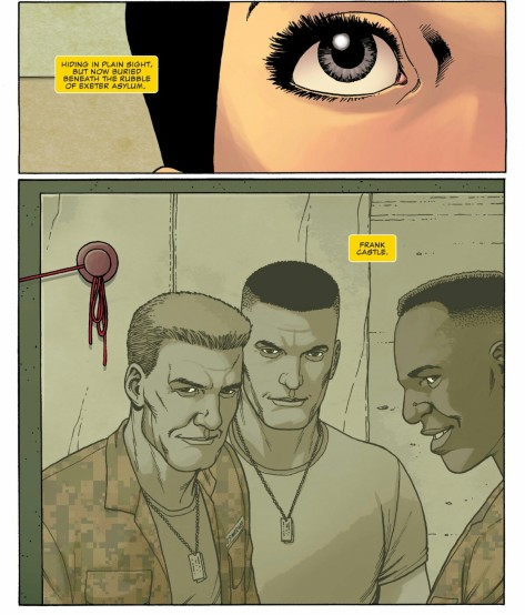 From The Punisher ##6 by Steve Dillon, Frank Martin & Lee Duhig