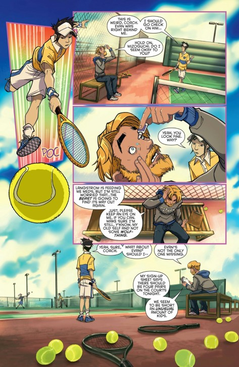 From Gotham Academy Second Semester #2 by Adam Archer, Sandra Hope, Msassyk & Serge Lapointe