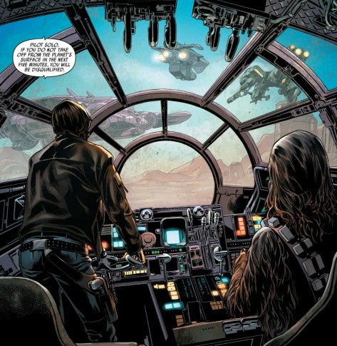 From Han Solo #4 by Mark Brooks, Sonia Oback & Matt Milla