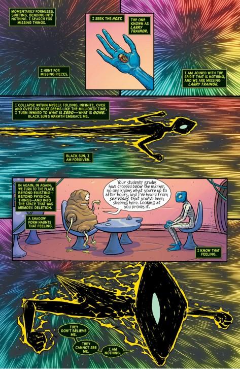 From Doom Patrol #2 by Nick Derington & Tamra Bon villain