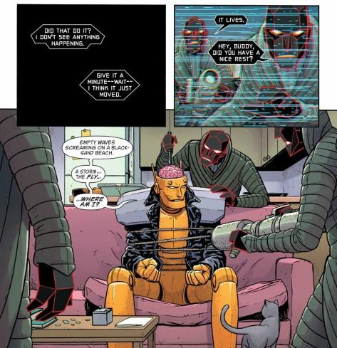 From Doom Patrol #2 by Nick Derington & Tamra Bonvillain