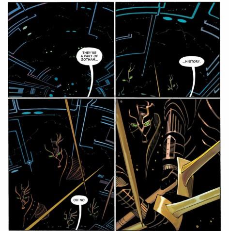 From All Star Batman by John Romita Jr, Danny Miki & Dean White
