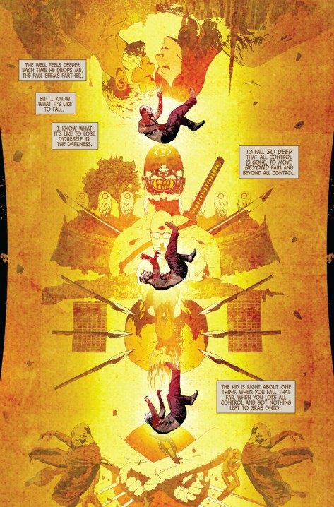 From Old Man Logan #12 by Andrea Sorrentino & Marcelo Maiolo