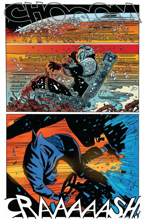 From Moon Knight #7 by James Stokoe & Francesco Francavilla
