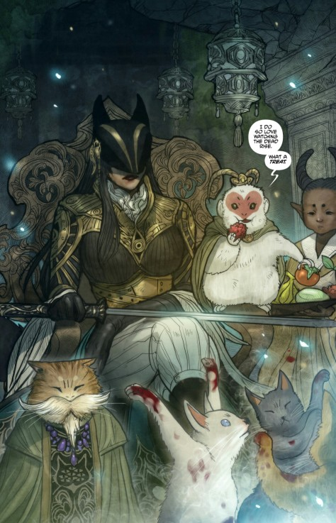 From Monstress #7 by Sana Takeda