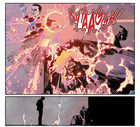 From Imfamous Iron Man #1 by Alex Maleev & Matt Hollingsworth