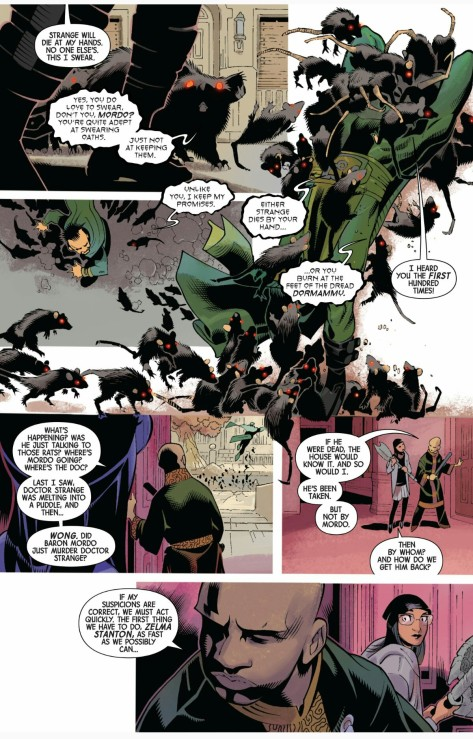 From Dr. Strange #13 by Chris Bachalo, Victor Olazaba & Antonio Fabela