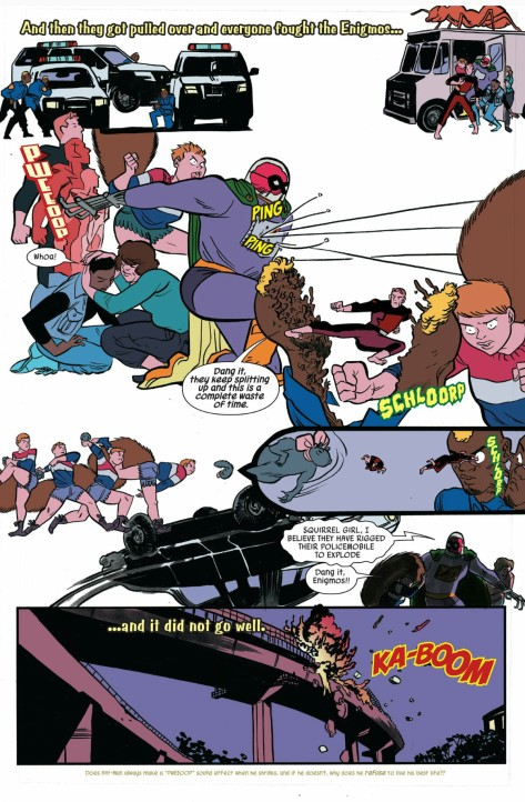 From The Unbeatable Squirrel Girl #13 by Erica Henderson & Rico Renzi